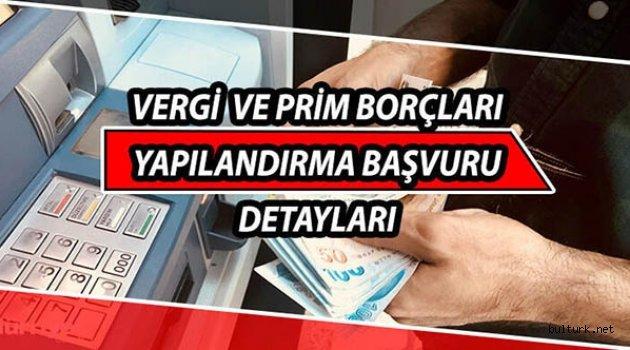 Borç ve ceza yapılandırma yasası Resmi Gazete'de yayımlandı