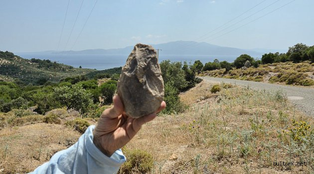 Çanakkale-Balıkesir Kıyı Şeridinde Paleolitik Çağ Aletleri