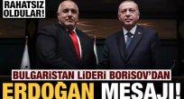 Bulgaristan Başbakanı: Erdoğan beni tebrik ettiği için rahatsız oldular