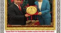 Gagauz Özerk Yeri Başkanlığına Seçilen Irina Vlah'ı Tebrik Ederiz.